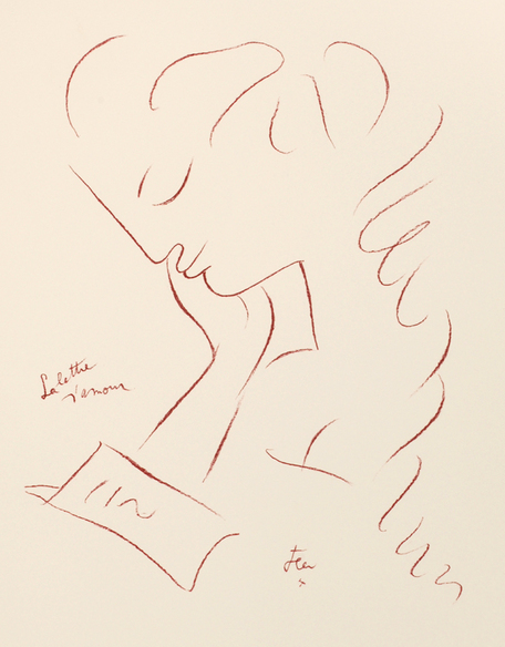 la lettre d\\\'amour La Lettre d'Amour. The Love Letter. 1960. Jean Cocteau   William  la lettre d\\\'amour